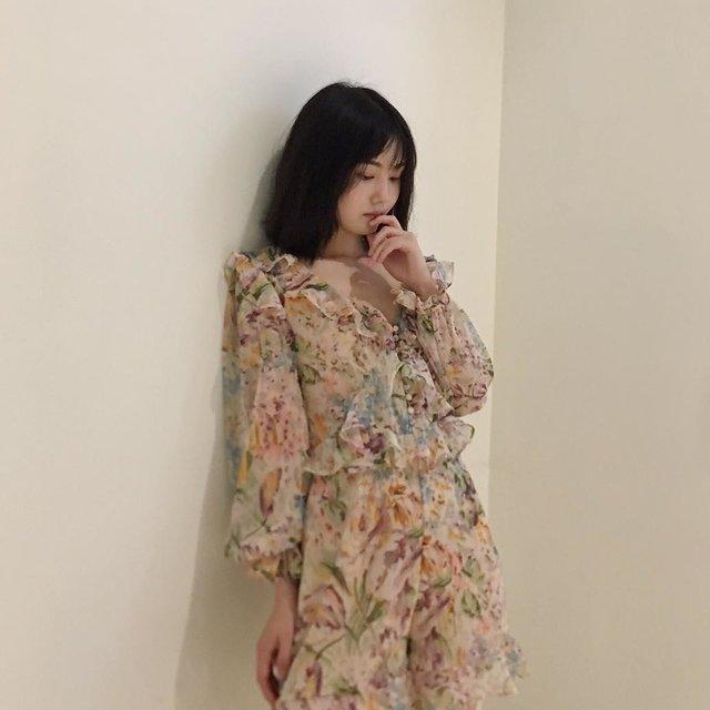 今天穿这样,喜欢请点赞,total look,nice摄影,小仙女