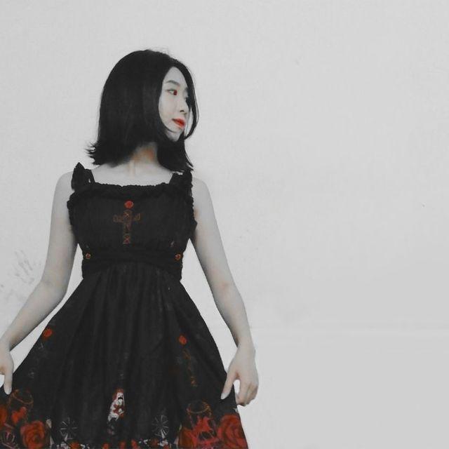互粉互赞,互赞,喜欢请点赞,今天穿这样,Lolita