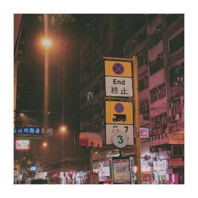 路标,下雨天,喜欢请点赞,胶卷的味道,街角