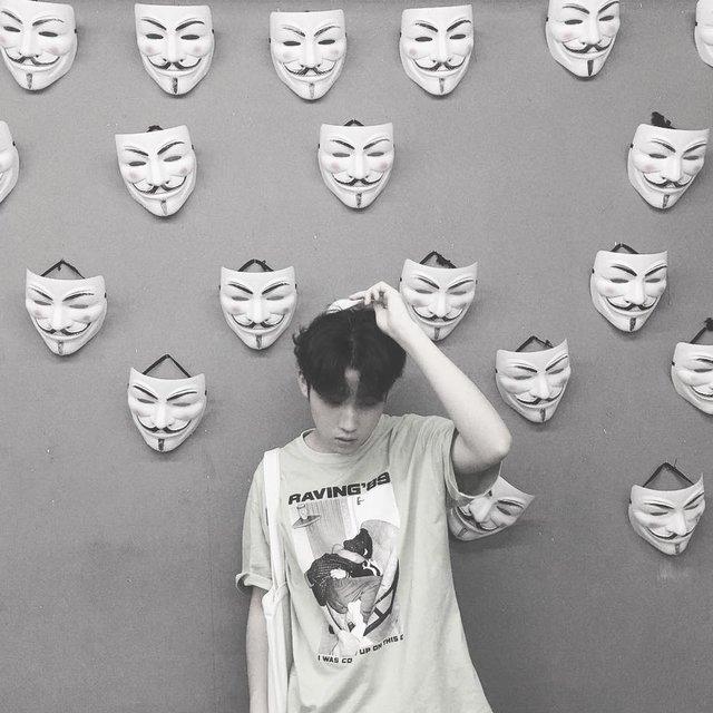 面具,just posted a photo with nice,total look