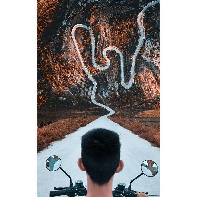 艺术,日落黄昏,后期处理,手机摄影