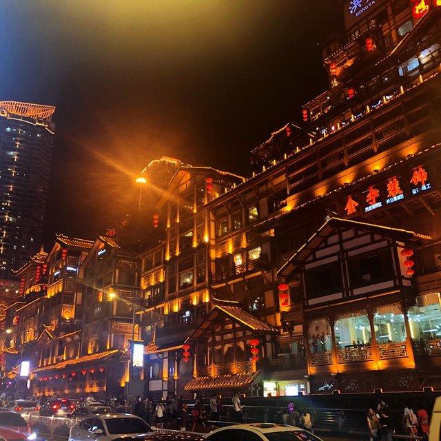 洪崖洞,重庆,手机摄影