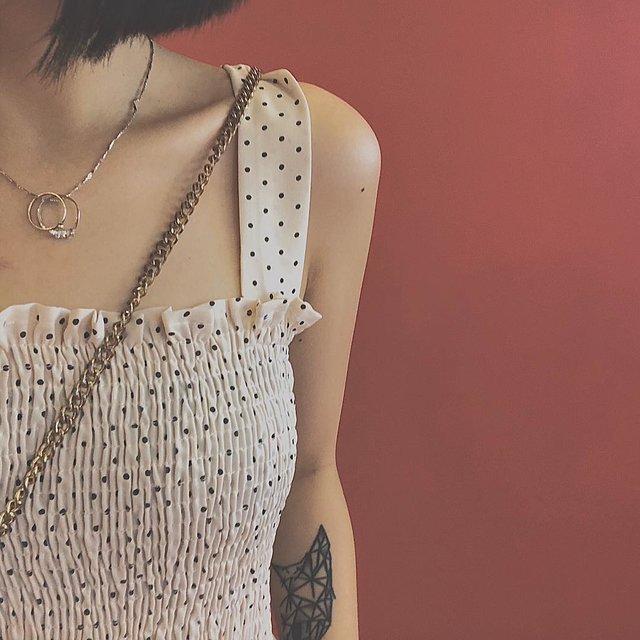 挑战早起,衣如从前,爱纹身,今天穿这样,♡